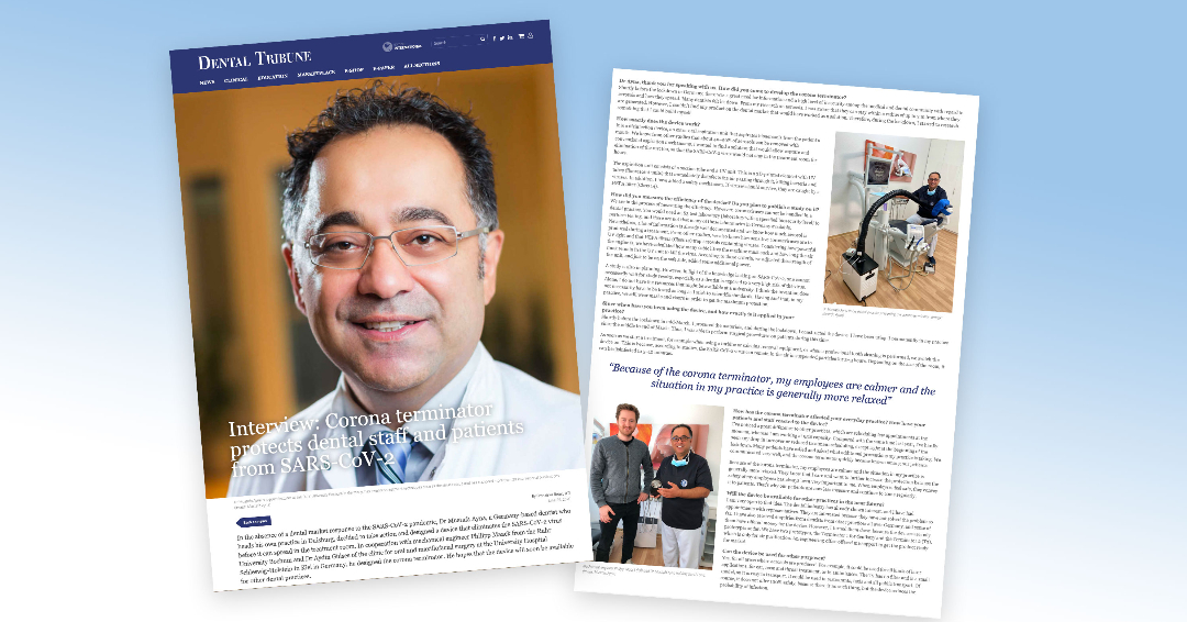 <h3> Interview mit Dr. Ayna in Dental Tribute </h3>